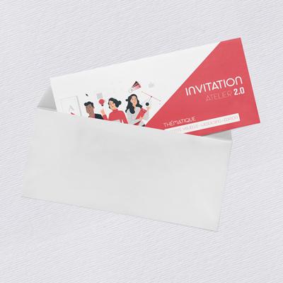 impression exemple carte invitation