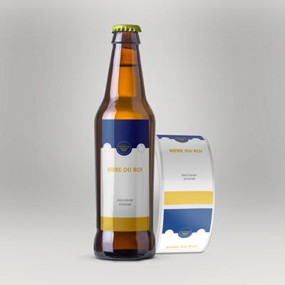 impression etiquette biere pas cher