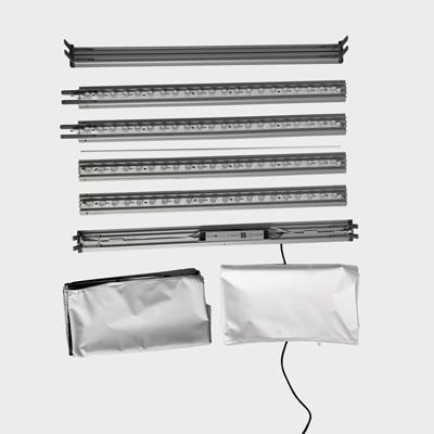 structure lightbox démontée pas cher