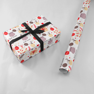 impression papier cadeau en rouleau pas cher