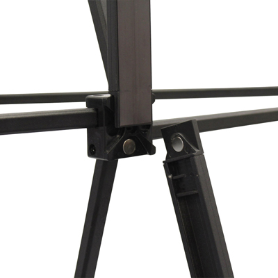 zoom structure stand parapluie pvc pas cher